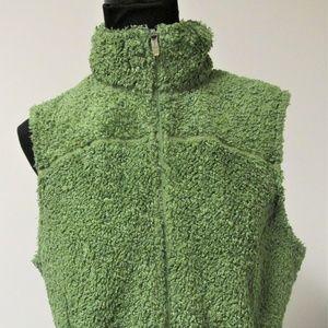 L.L.Bean Women Hi Pile Fleece Vest Size Large